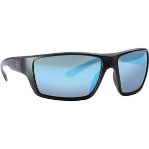 Magpul Terrain Shooting Glasses Black Frame Polarized Anti-Reflective Blue Mirror/Bronze Lenses