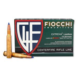 FIOCCHI .270 Winchester Ammunition 20 Rounds Barnes TTSX 130 Grains 270TTSX