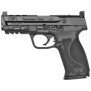 "S&W M&P9 M2.0 Performance Center 9mm Semi Auto Handgun 4.25"" Barrel 17 Rounds Ported Barrel and Slide C.O.R.E Optics Mounting Kit Black"