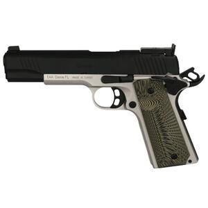 "EAA GiRSAN MC1911 Match Model .45 ACP Semi Auto Pistol 5"" Barrel 8 Rounds Adjustable Rear Sight Ambidextrous Safety Two Tone Finish"
