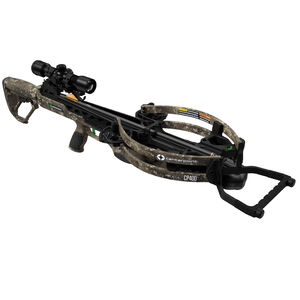 Centerpoint CP400 Crossbow Kit with Silent Crank and 3x32 Scope Adjustable Stock Camo
