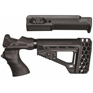 BLACKHAWK! Knoxx Spec Ops Gen III Remington 870 12 Gauge Recoil Absorbing Stock and Forend Polymer Black