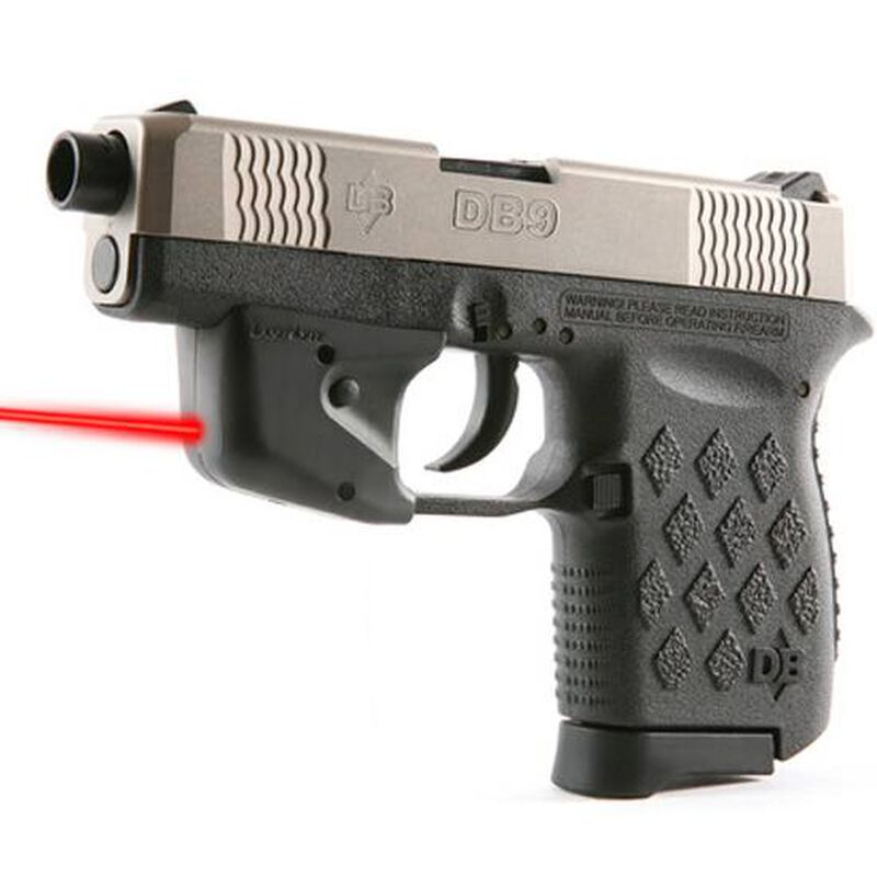 Laserlyte Gun Sight Training Laser Diamondback  380 and 9mm Trigger Guard  Mount Black UTA-DB