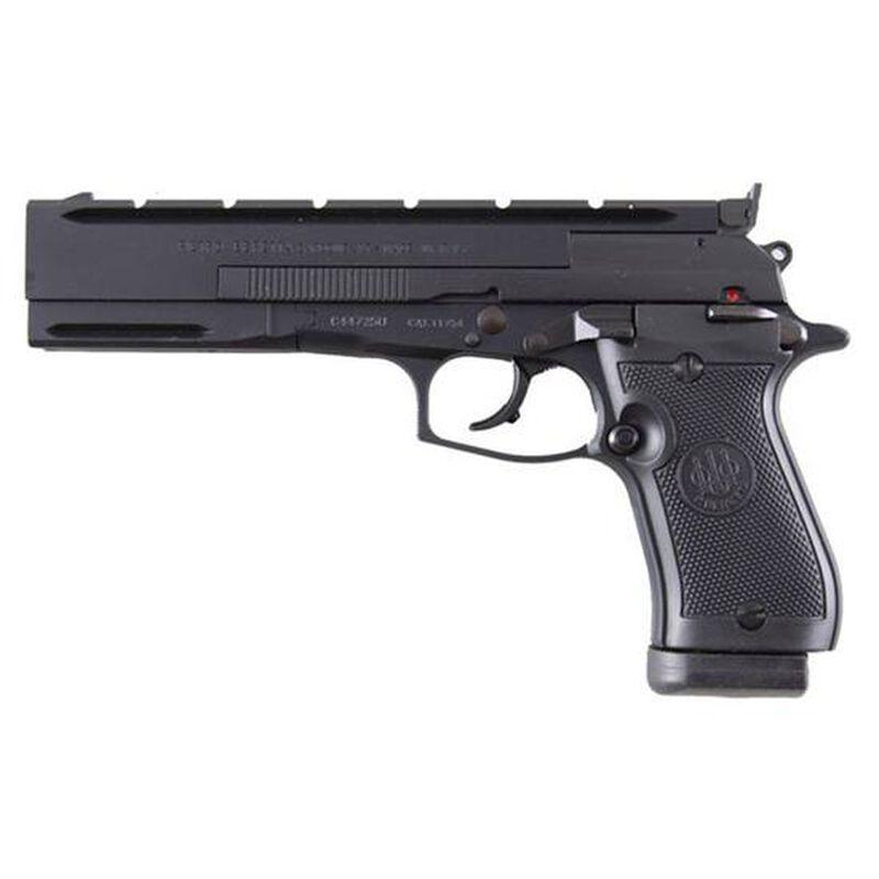 "Beretta Model 87 Target Semi Automatic Handgun .22 LR 5.9"" Barrel 10 Rounds Plastic Grips Black Matte Finish"