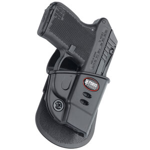 Fobus Evolution Holster Kel-Tec P-32 Second Gen/Ruger LCP Right Hand Paddle Attachment Polymer Black