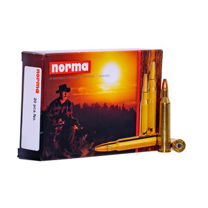 Norma USA 6.5x55 Swedish Mauser Ammunition 20 Rounds 156 Grain Oryx 2559fps