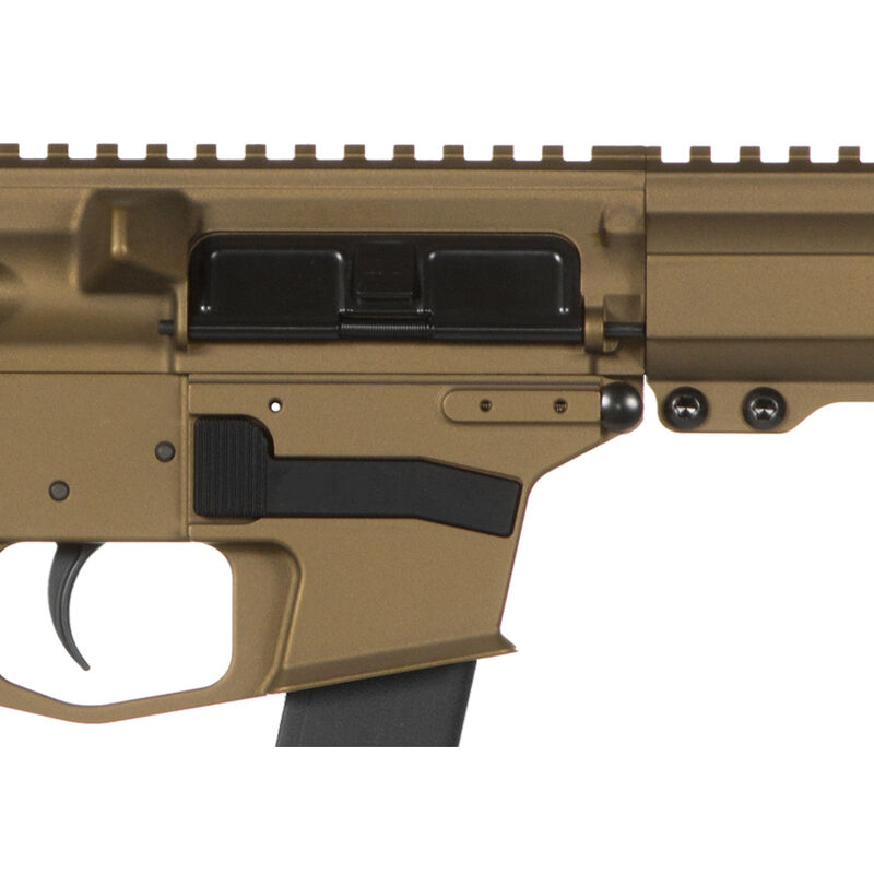 "CMMG Resolute 300 Mk3 .308 Win AR-308 Semi Auto Rifle 16"" Barrel 20 Rounds RML15 M-LOK Handguard RipStock Collapsible Stock Burnt Bronze Finish"