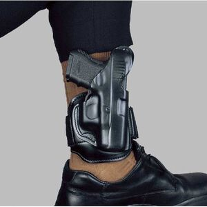 Leather Ankle Rig HolsterGun Fit: Glock