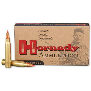 Hornady Varmint Express .223 Remington Ammunition 20 Rounds 55 Grain Hornady V-Max Polymer Tip Projectile 3240fps