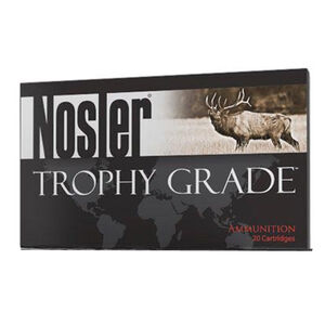 Nosler Trophy Grade .33 Nosler Ammunition 20 Rounds 250 Grain Partition 2750 fps