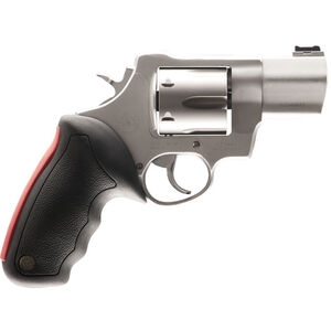 """Taurus Raging Bull 444 Multi Double Action Revolver .44 Magnum 2"""" Barrel 6 Rounds Fiber Optic Front Sight/Fixed Rear Sight Rubber Grip Matte Stainless Steel Finish"""