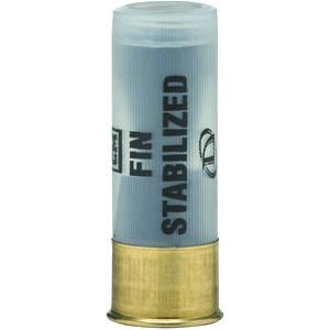 """Defense Technology Fin Stabilized 12 Gauge Ammunition 1 Round 2.34"""" Shell 5.8 Gram Finned Rubber Sabot Slug Less Lethal 500 fps."""