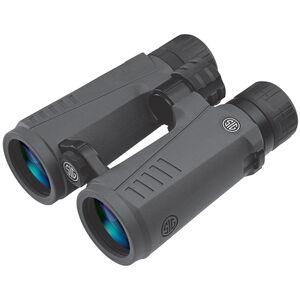 SIG Sauer Zulu7 Open Bridge 12x50 Full Size Binoculars Multi-Coated BAK4 Prism System Multi-Position Twist Eyecups IPX-7 Waterproof/Fogproof Non-Slip Grip Coating Rubber Armor Graphite/Black Finish