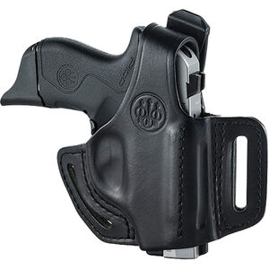 Beretta Mod.02 for PICO OWB Belt Holster with Thumb Break Right Hand Leather Black