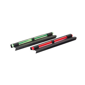 Allen Illuminated Shotgun Front Sight Fits Most Shotguns Steel/Fiber Optic Green/Red