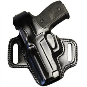 Galco FLETCH Belt Holster Left Hand Fits GLOCK 19/23 Leather Black