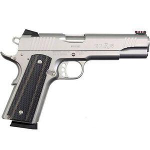 "Remington 1911 R1 Enhanced Semi Auto Handgun .45 ACP 5"" Barrel 8 Rounds Laminated Grips Adjustable Fiber Optic Sights 96329"