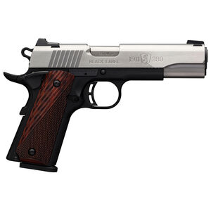 "Browning 1911-380 Black Label Medallion Semi Auto Pistol 380 ACP 4.25"" Barrel 8 Rounds Composite Frame Stainless Steel"