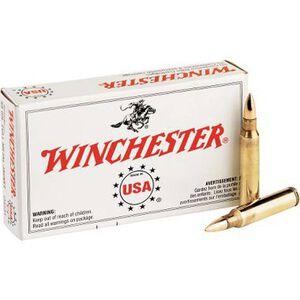 Winchester USA .223 Rem Ammunition 62 Grain FMJ 3200 fps