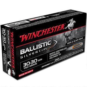Winchester Silvertip .30-30 Winchester Ammunition 200 Rounds BST 150 Grains SBST3030
