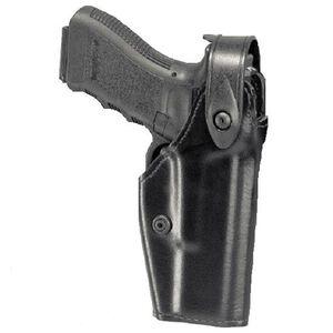 Safariland 6280 SLS Mid-Ride Glock 19, 26 Level 2 Retention Duty Holster, Left Hand, STX Plain Black 6280-283-132