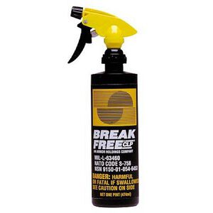 Break-Free CLP-5 Clean/Lubricate/Protect Liquid 1 Pint Spray Bottle 10 Pack