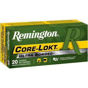 Remington Core-Lokt .223 Rem Ammunition 20 Rounds 62 Grain Core-Lokt Ultra Bonded PSP CLUB 3100fps