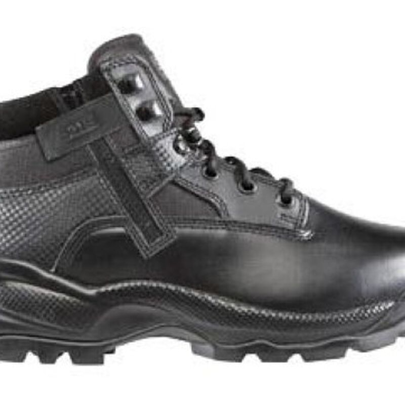 5.11 Tactical Women's A.T.A.C. Boots Leather 6.5 Black 12025
