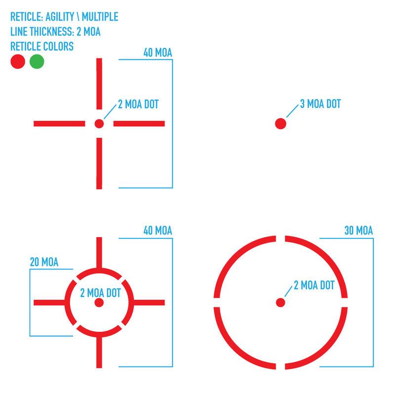 Firefield Agility 1x30 Shotgun Red Dot FF26031