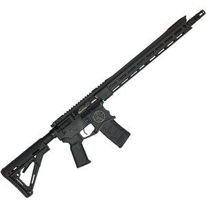 "Spec Arms Defender .223 Wylde AR-15 Semi Auto Rifle, 16"" Match Grade Barrel, 30 Rounds, M-LOK Handguard, Collapsible Stock, Black Cerakote Finish"