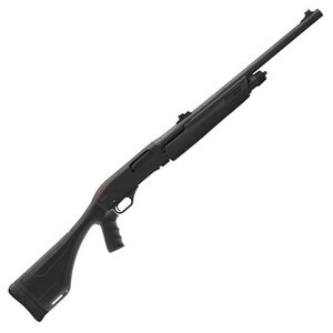 "Winchester SXP Extreme Deer Hunter Pump Action Shotgun 12 Gauge 22"" Rifled Barrel 3"" Chamber 4 Rounds Fiber Optic Sights Black Synthetic Pistol Grip Stock Blued 512312340"