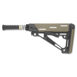 Hogue AR-15 Collapsible Carbine Buttstock Kit Mil-Spec OverMolded Flat Dark Earth 15345
