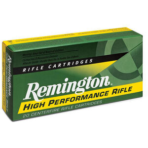 Remington .243 Winchester Ammunition 20 Rounds PSP 80 Grains