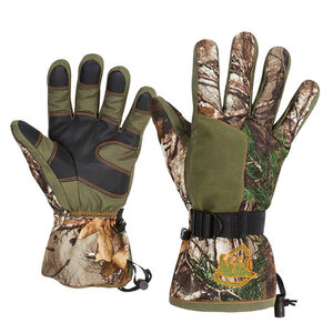 Arctic Shield Classic Elite Gloves Realtree Edge Camouflage Large