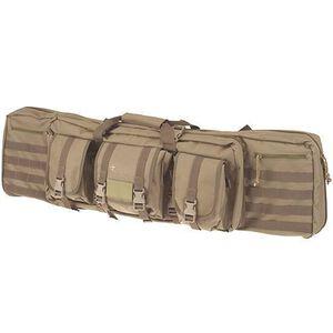 "DRAGO Gear 42"" Single Gun Case Padded Backpack Straps 600D Polyester Tan 12-303TN"