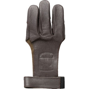 Bear Archery Leather Shooting Glove 3-Finger Ambidextrous