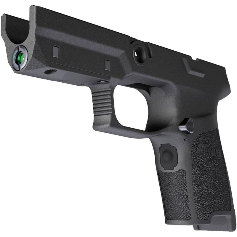 SIG Sauer LIMA5 P320/P250 Compact Green Laser Grip Module 9mm/ 40/ 357 OEM  Frame Medium Grip Polymer Black