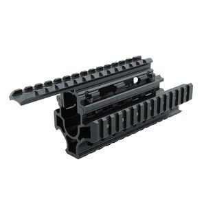 TacFire AK-47 Quad Rail, Black Aluminum