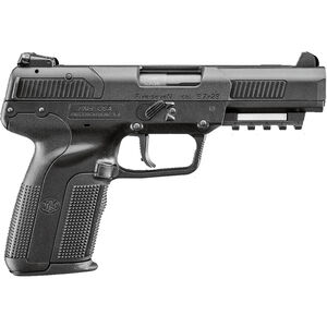 "FNH FN Five-seveN 5.7x28mm Semi Auto Pistol 4.8"" Barrel 20 Rounds Ambidextrous Controls Polymer Frame Black"