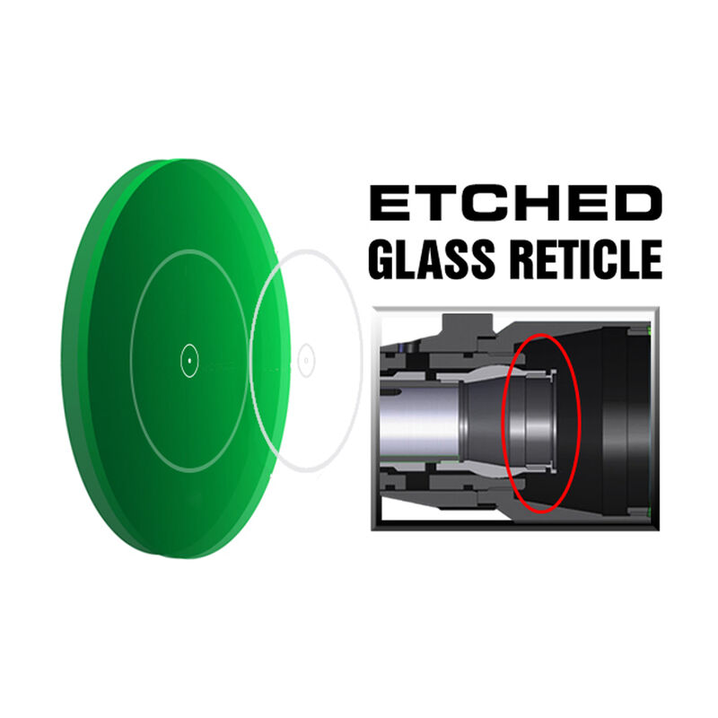 UTG 2-16x44 Scope 36 Color Mil Dot Reticle 30mm with QD Rings Matte Black SCP3-216AOIEW