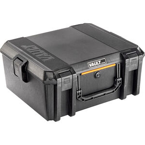 "Pelican V600 Vault Large Equipment Case 21""x17""x9.5"" Polymer Matte Black"