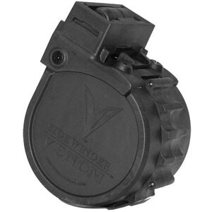 "Adaptive Tactical Sidewinder Venom 12 Gauge Rotary Magazine 10 Rounds 2 3/4"" Polymer Black AT-00902"