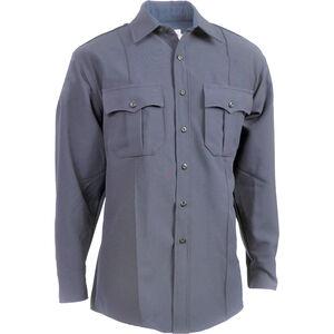 Elbeco Men's TexTrop2 Long Sleeve Shirt , French Blue, 18x33