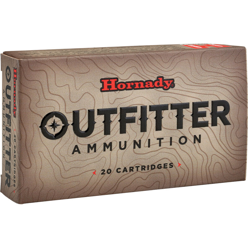 Hornady Outfitter .300 Winchester Magnum Ammunition 20 Rounds GMX 180 Grains