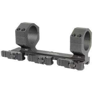 Midwest Industries QD Extreme 34mm Cantilever Offset Scope Mount Aluminum Black