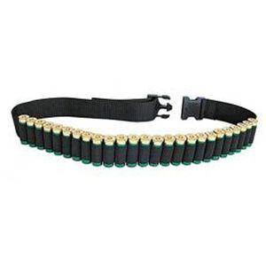 "Allen Shotgun Belt 54"" 25 Shell Nylon Black 211"
