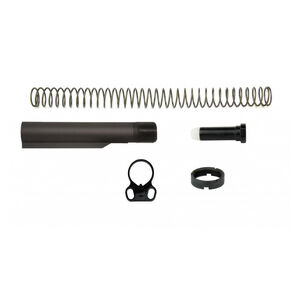TacFire AR-10 Mil-Spec .308 Buffer Tube Kit Dual Loop End Plate Black