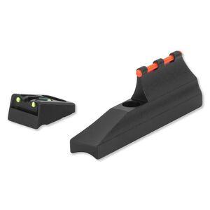 Williams Fire Sights Fiber Optic Set For Post 2003 Remington Rifles/Muzzleloaders Aluminum Black 70267
