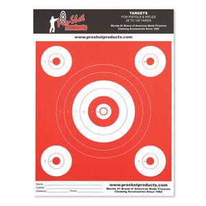 Pro-Shot Range Targets Heavy Paper Six Pack OG-6
