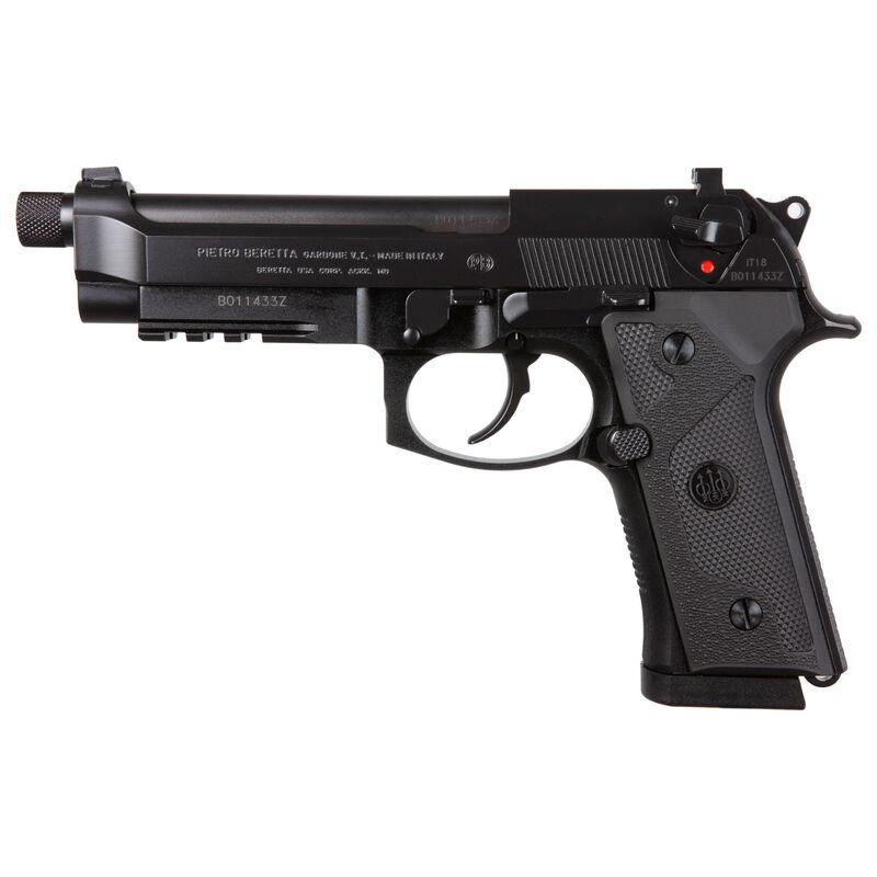 "Beretta M9A3 Type G Semi Auto Pistol 5"" Threaded Barrel 10 Round Magazine Tritium Night Sights Ambidextrous Decocker Only Accessory Rail Matte Black"